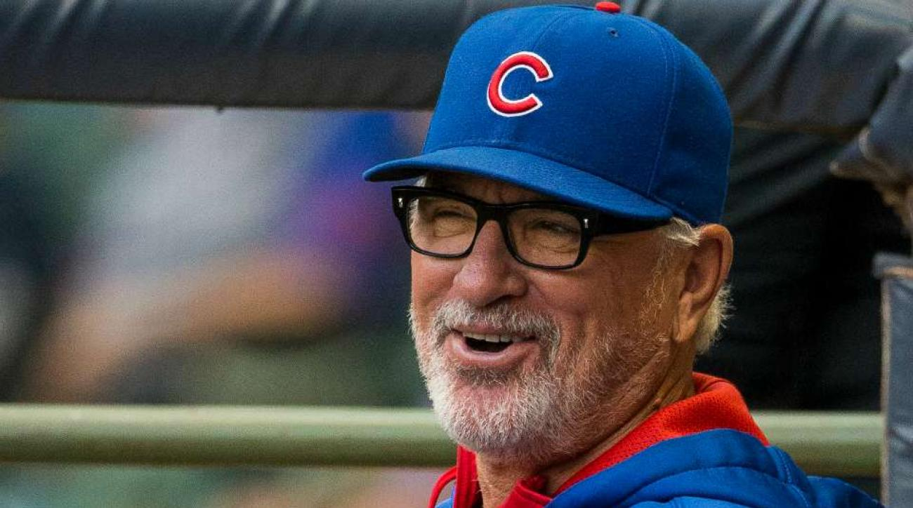 Joe Maddon hopes his beard will break Cubs dry spell