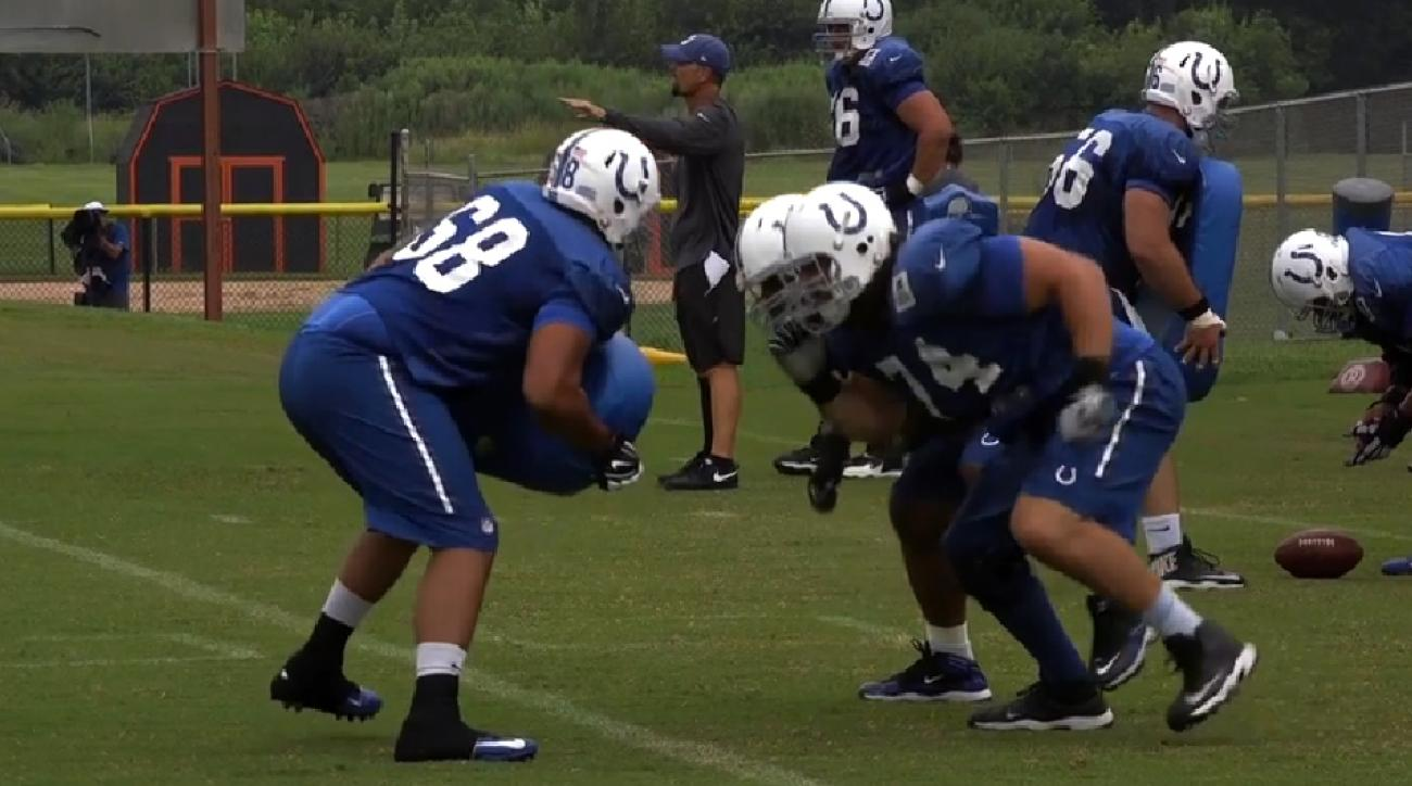 Indianapolis Colts, Training Camp 2015