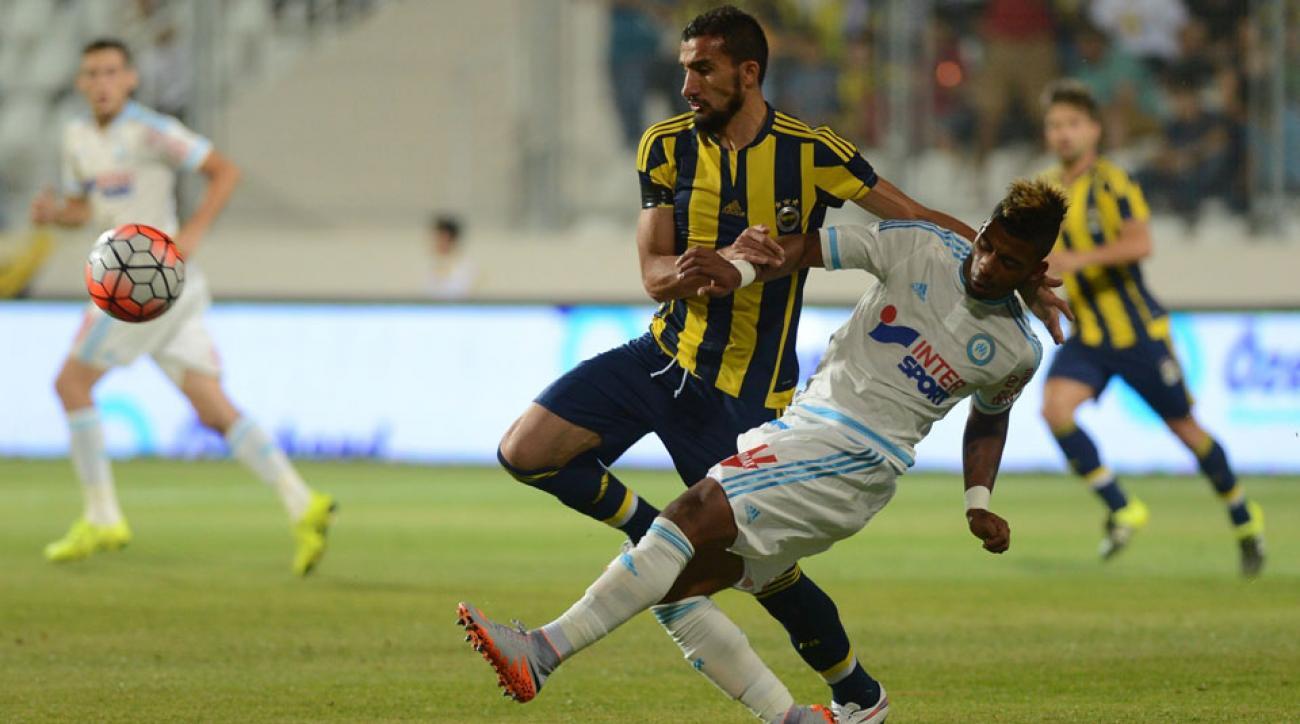 Fenerbahce's Mehmet Topal