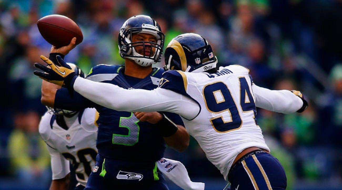 Rams defensive end Robert Quinn. (Jonathan Ferrey/Getty Images)