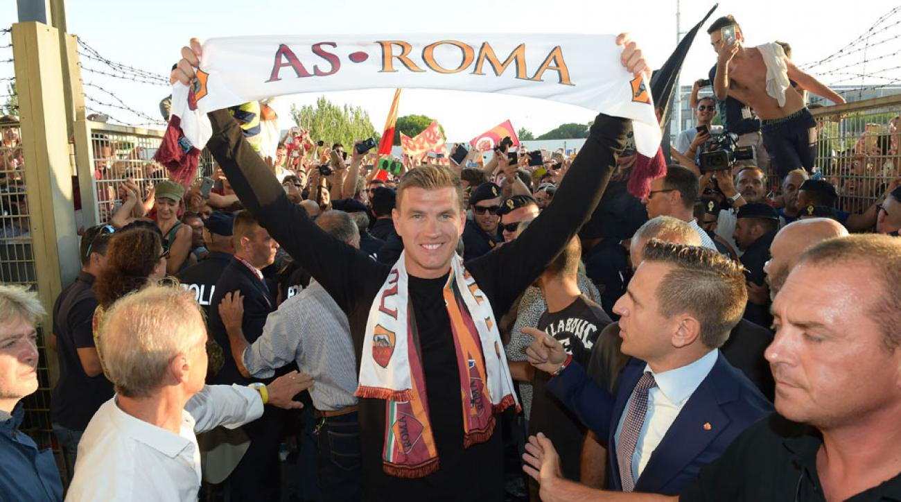 Edin Dzeko joins AS Roma from Manchester City