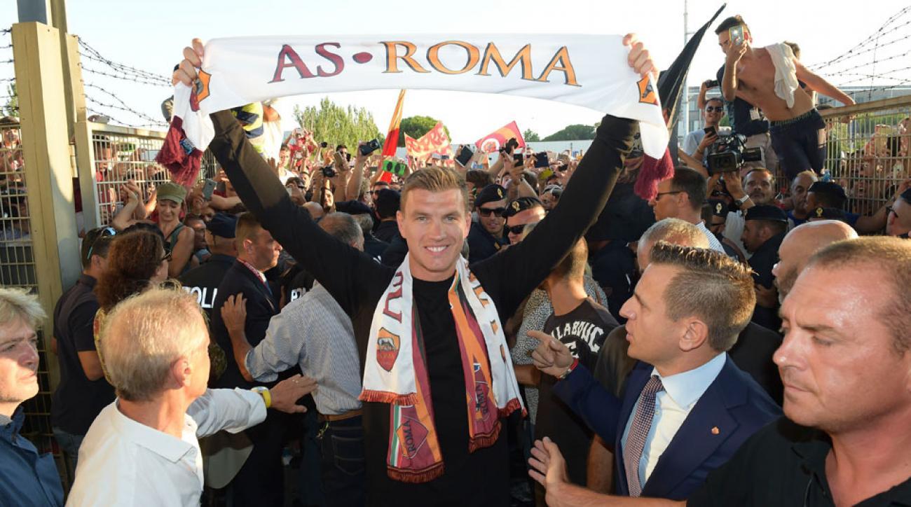 Edin Dzeko joins AS Roma from Manchester City