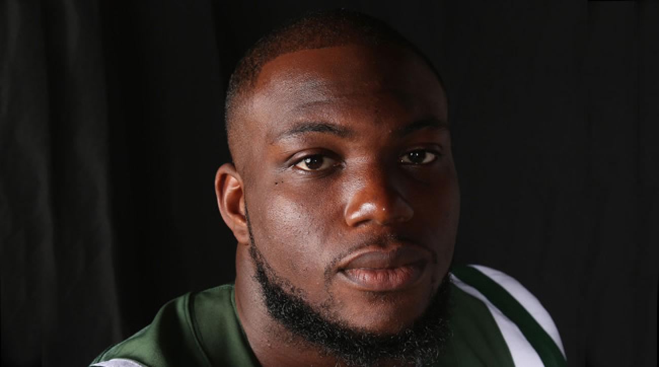 IK Enemkpali, who broke Geno Smith's jaw with a punch