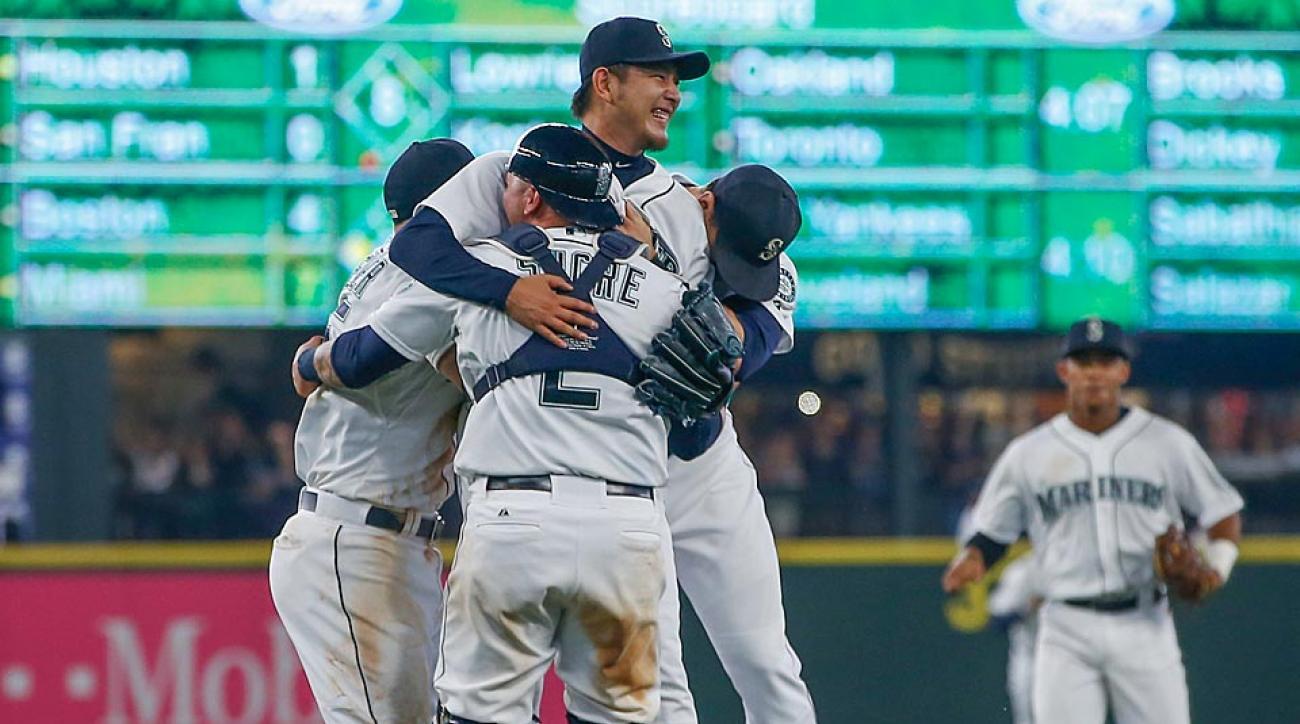 Hisashi Iwakuma Mariners no-hitter