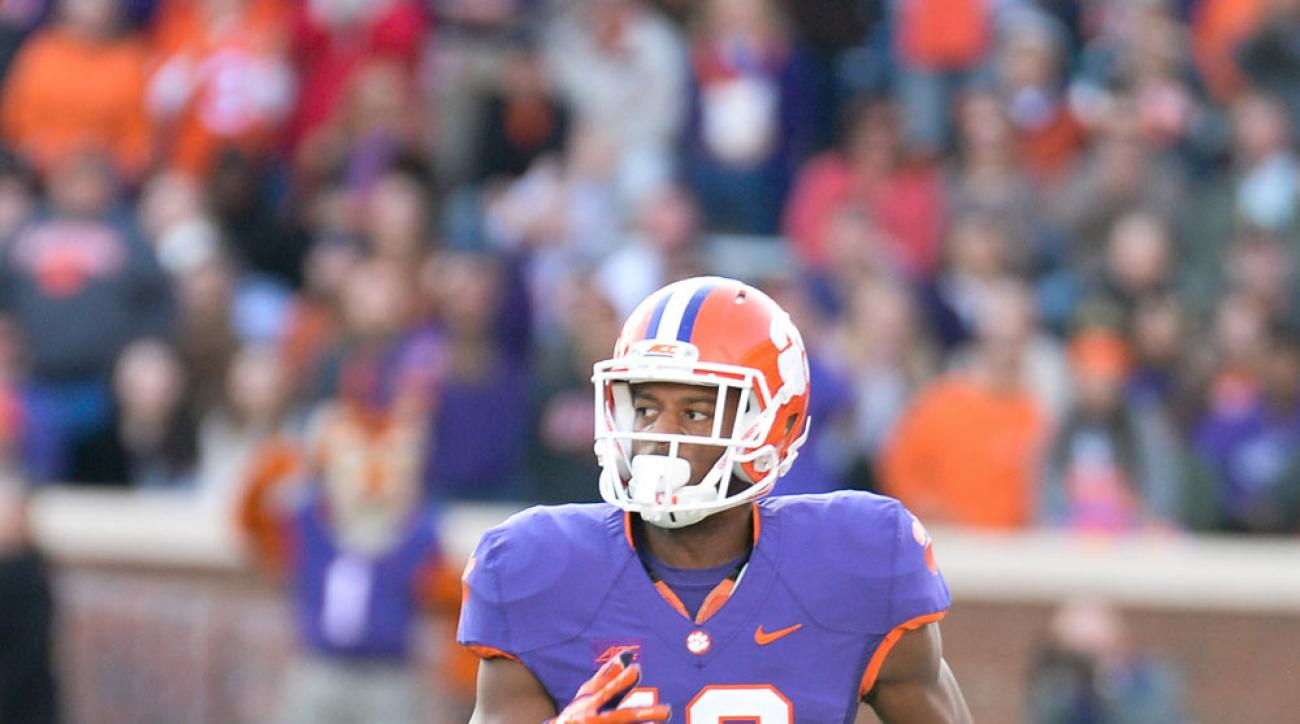 clemson football korrin wiggins torn acl out for season