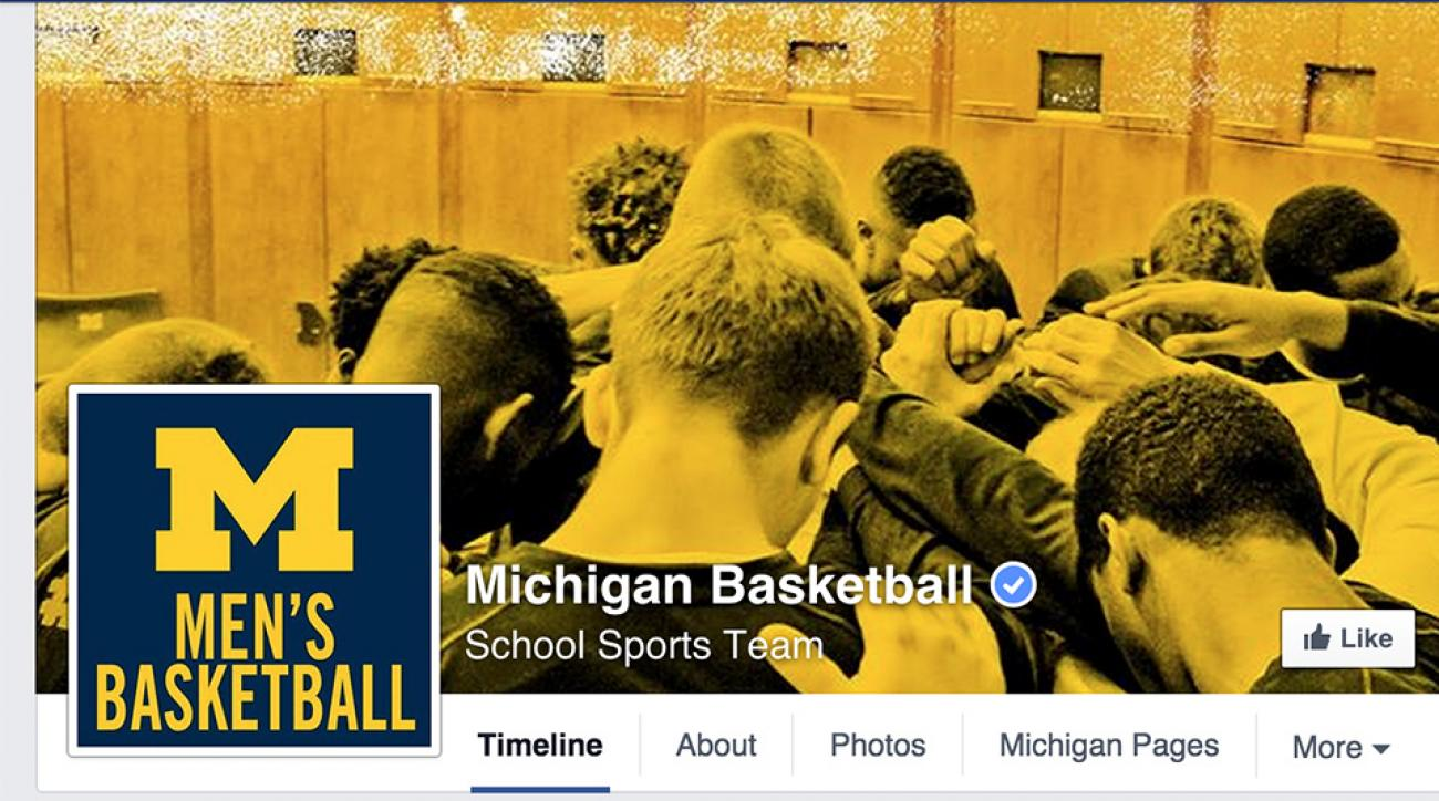 Michigan basketball facebook