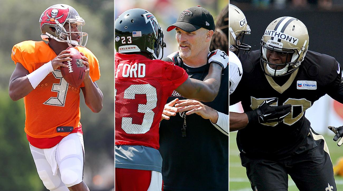 2015 NFL training camp: Saints, Falcons, Bucs eye return to NFC South race