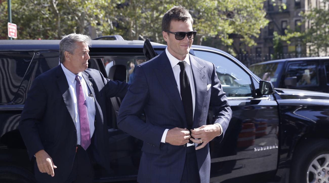 tom brady roger goodell deflategate settlement hearing new england patriots