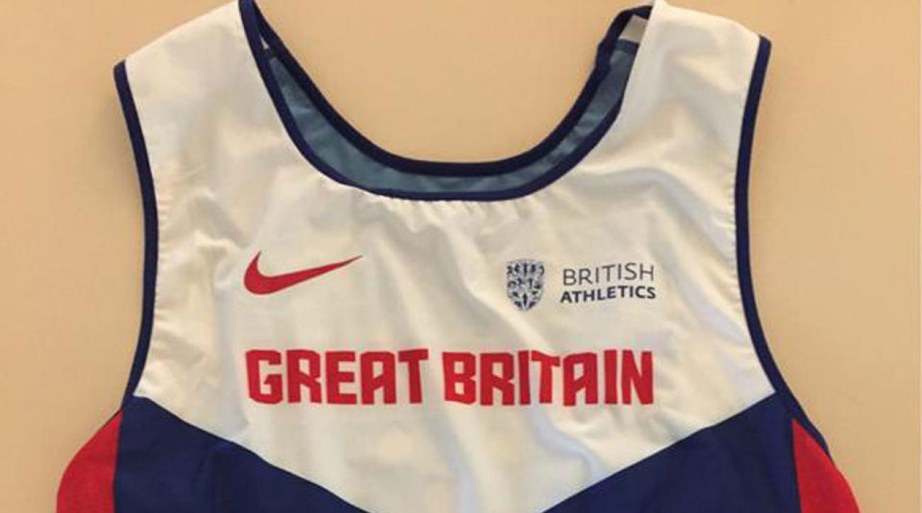 british athletics beijing 2015 kit missing union jack