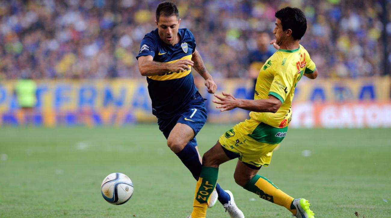 Juan Manuel Martinez is on his way to Real Salt Lake