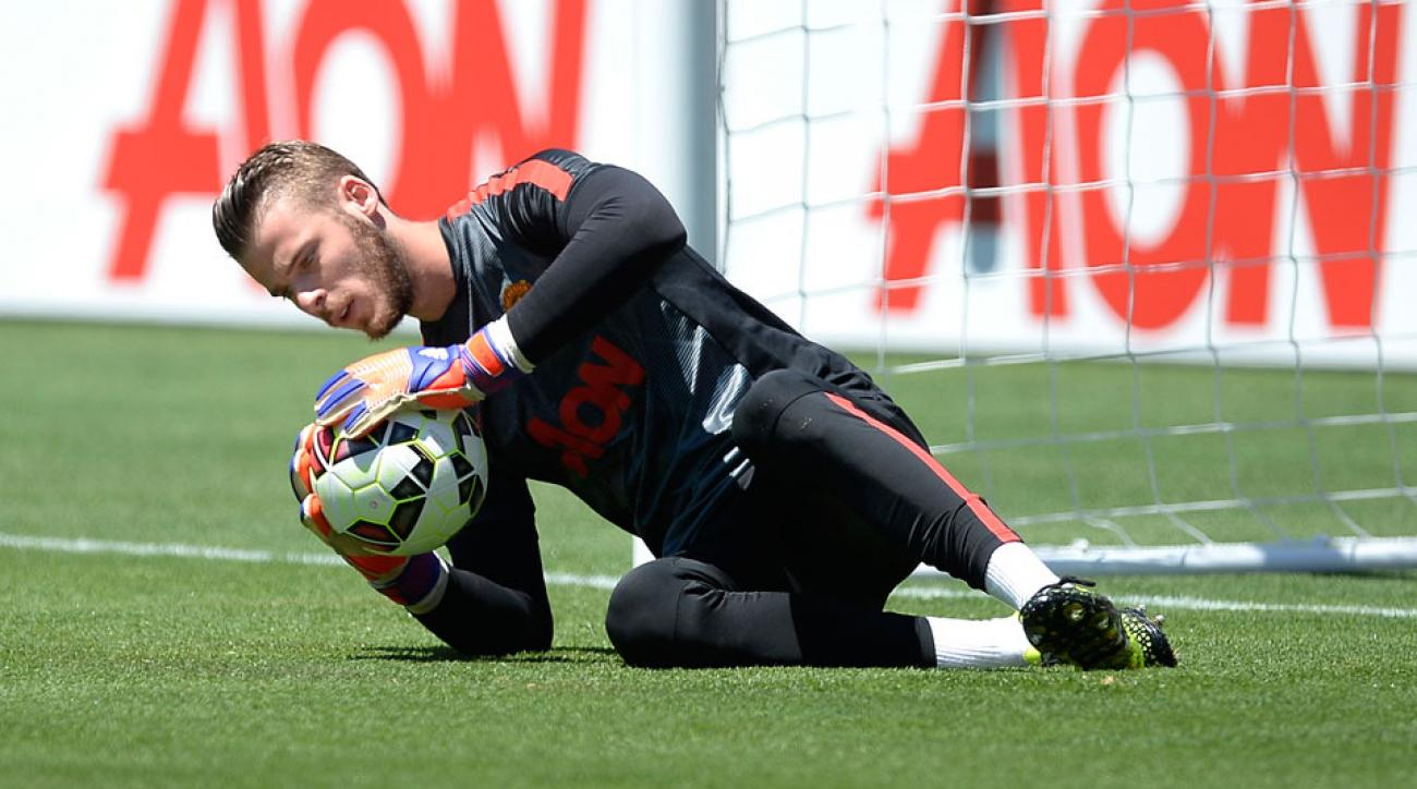 David de Gea will continue to sit for Manchester United