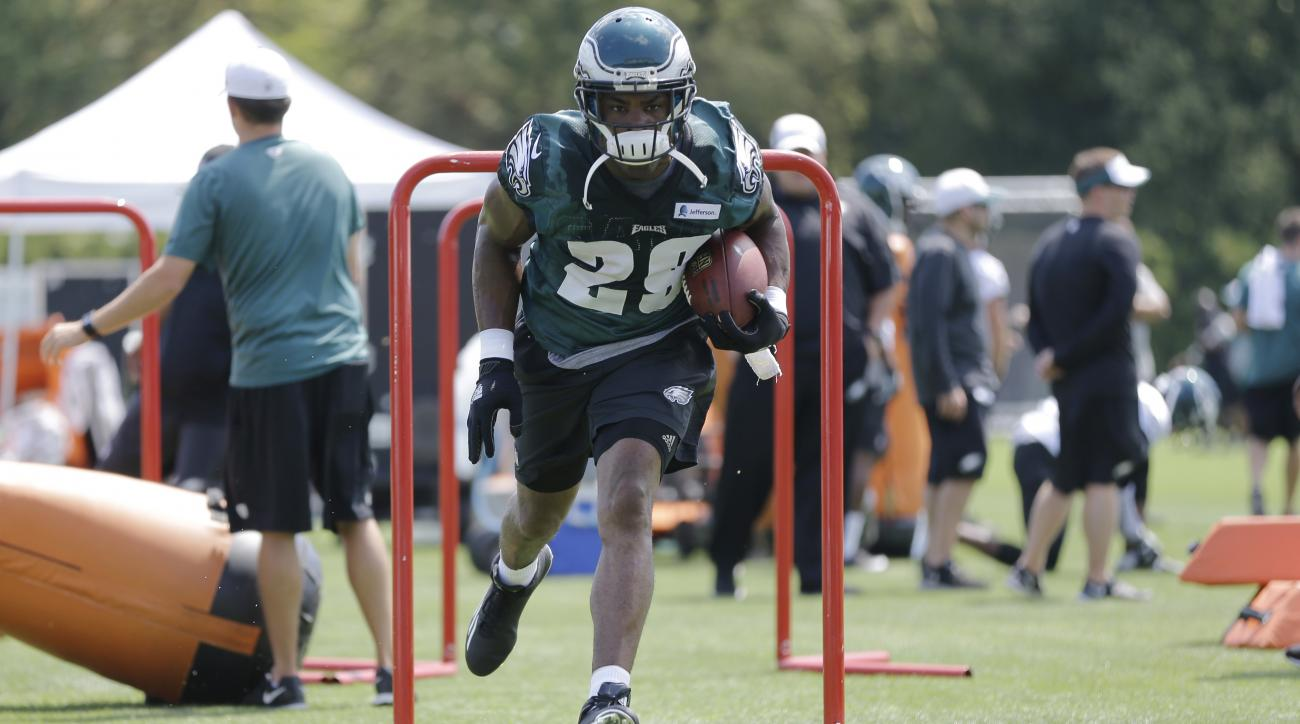 demarco murray eagles practice nfl training camp rumors