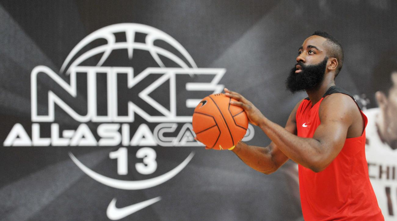 james harden houston rockets nike adidas sneakers deal