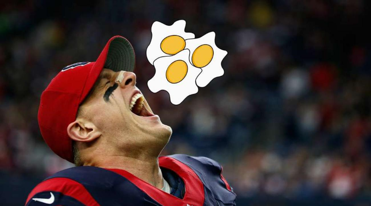 JJ Watt eats up to 9000 calories a day, loves brunch