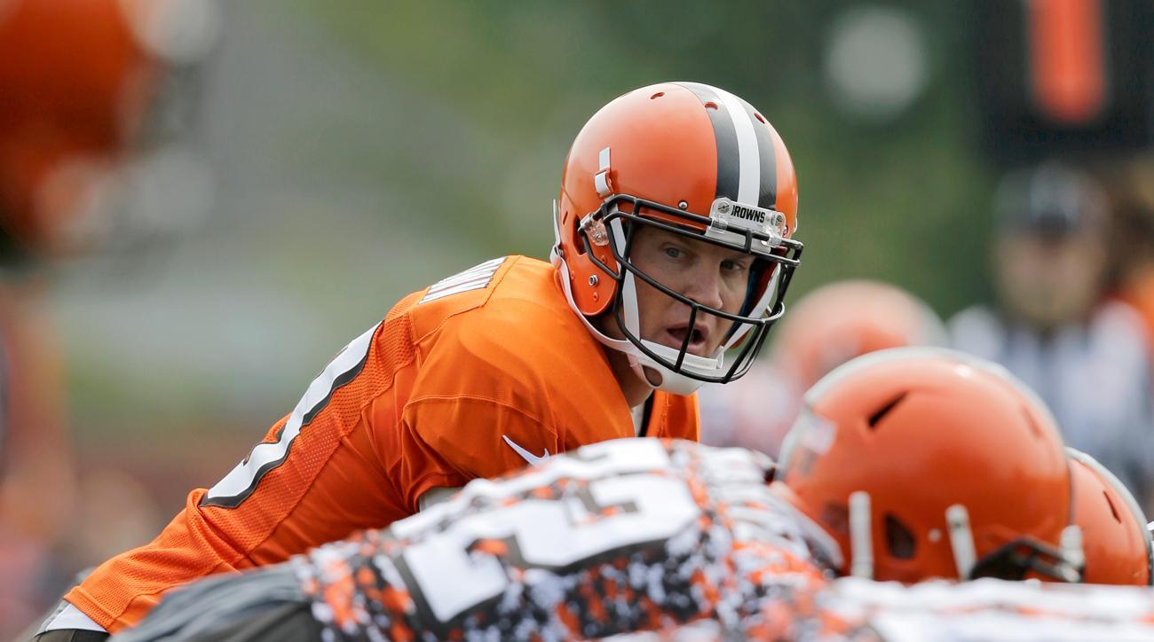 Josh McCown, Cleveland Browns