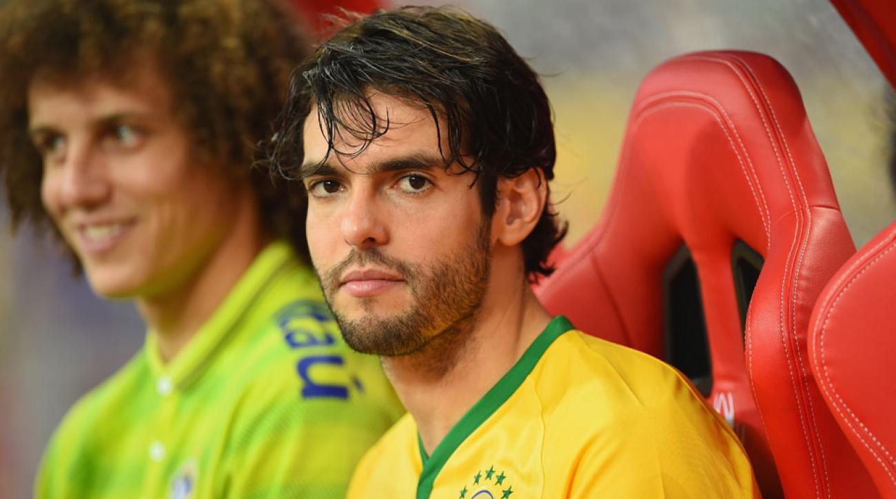 Kaka will suit up for Brazil in a friendly against the USA