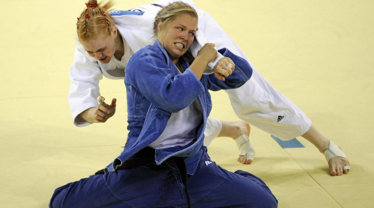ronda rousey 2008 olympic bronze medal match