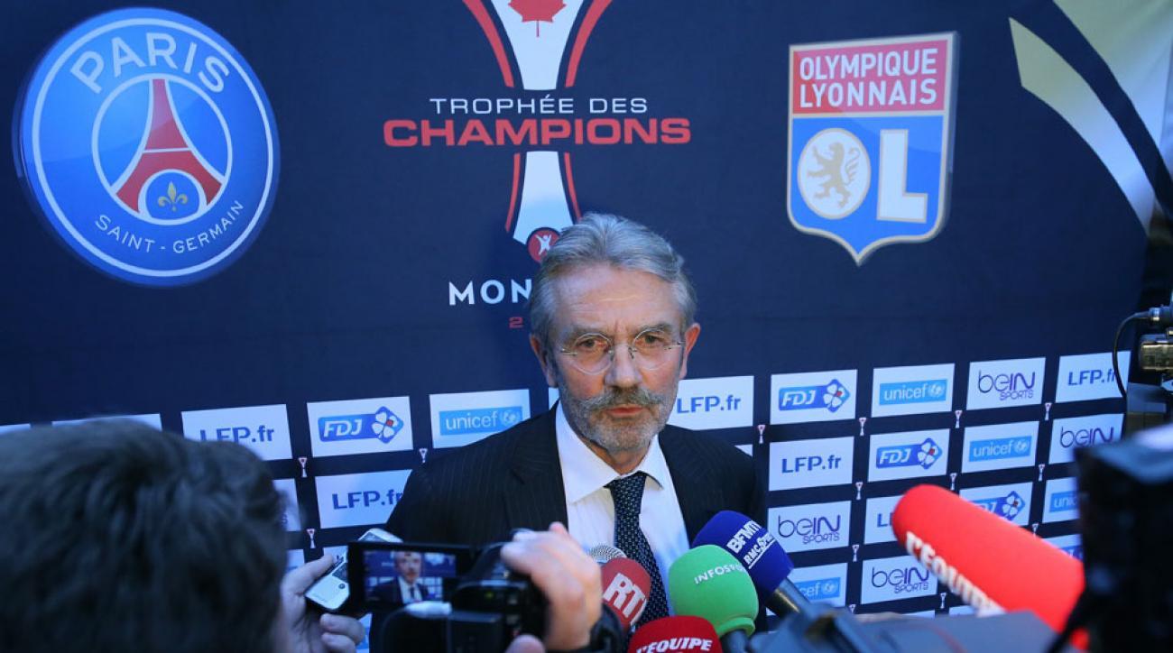 France Football Ligue president Frederic Thiriez