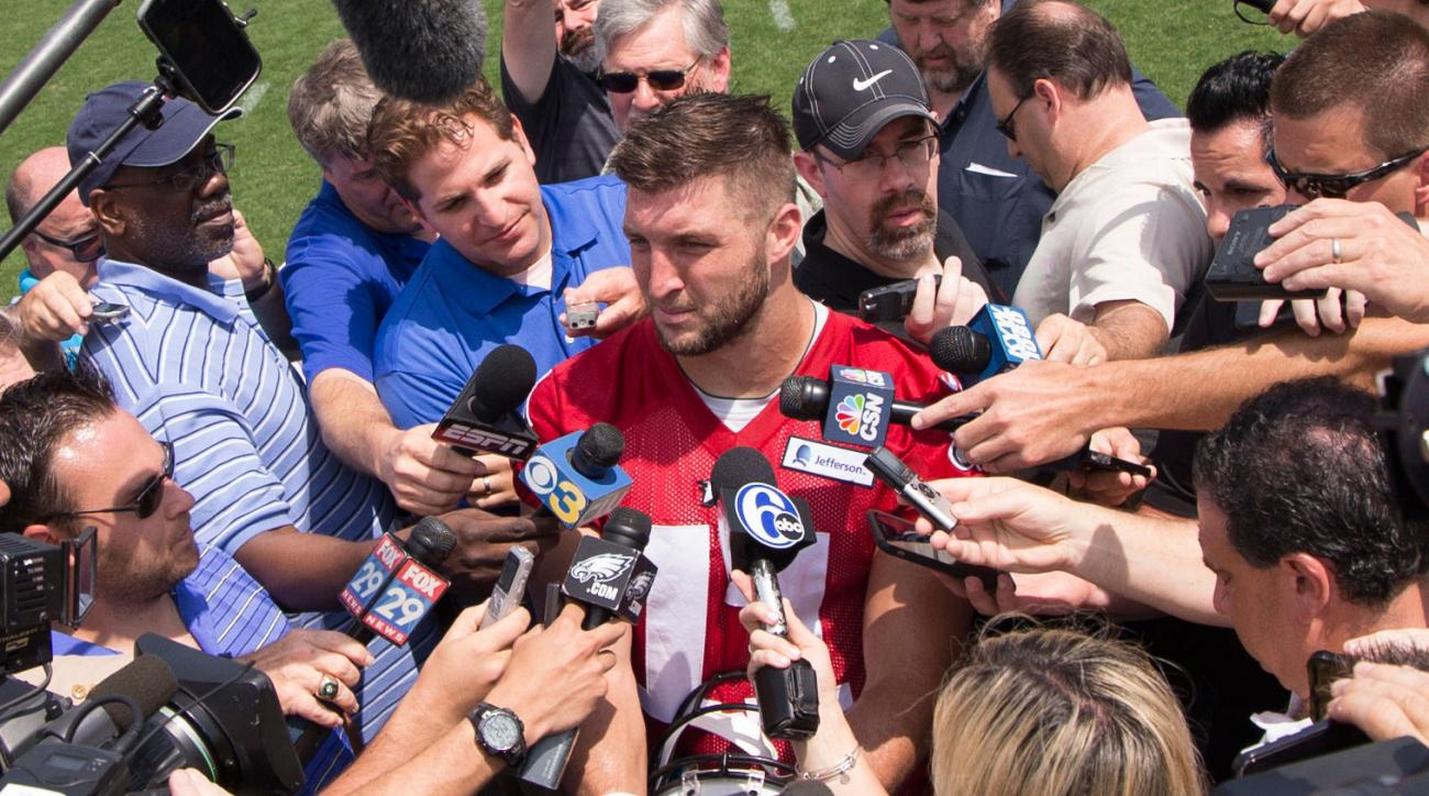tim tebow eagles news highlights best plays