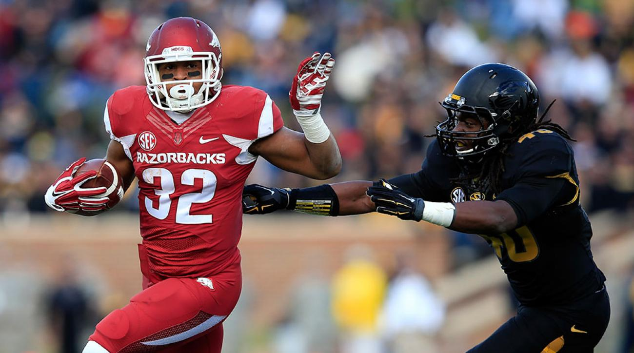 Arkansas Jonathan Williams injury