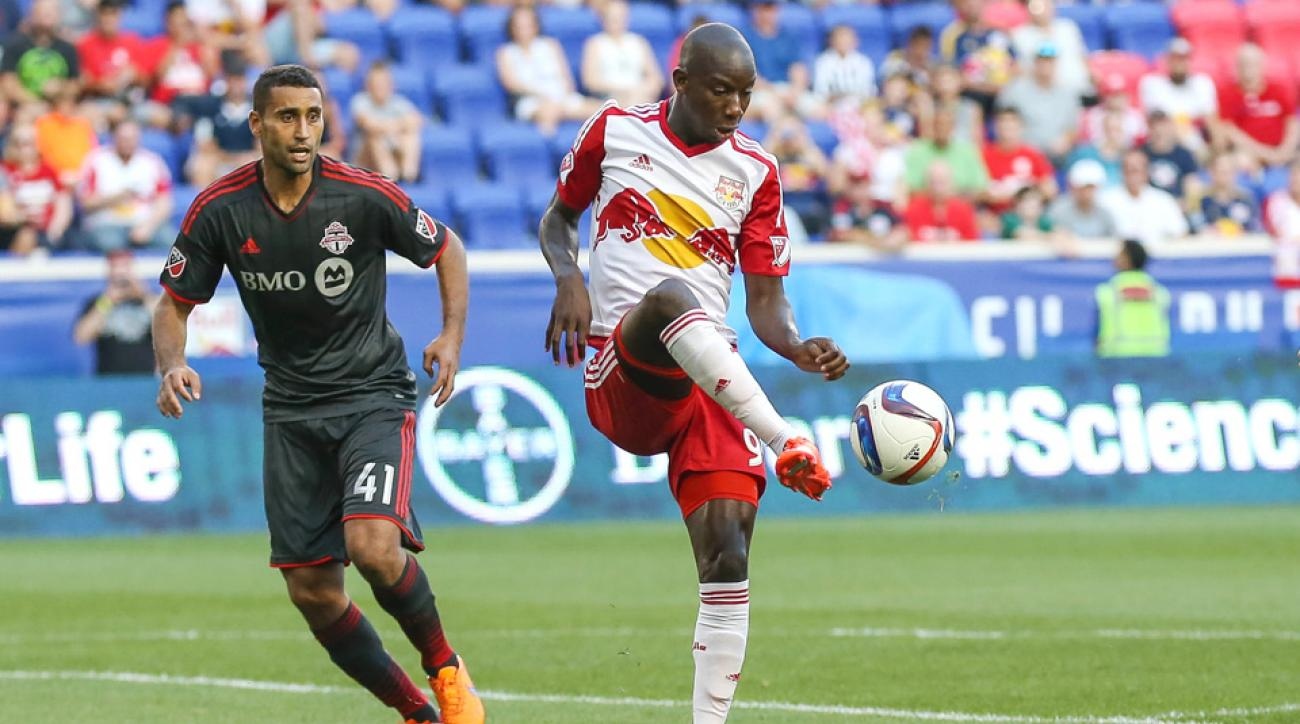 Bradley Wright-Phillips carried the New York Red Bulls past Toronto FC.
