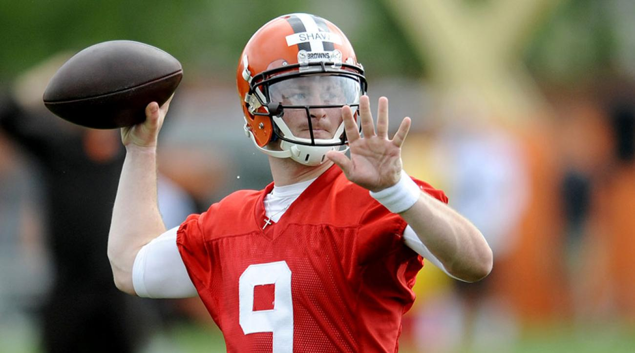 Cleveland Browns Connor Shaw broken thumb