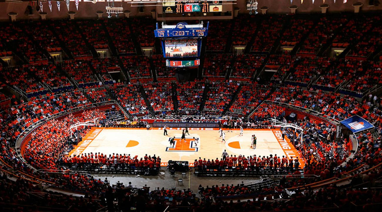 Illinois basketball Darius Paul suspended arrested