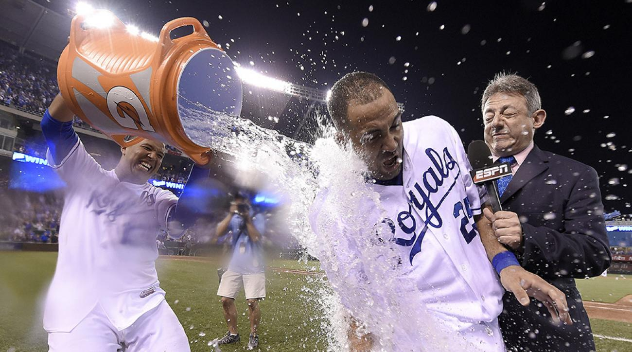 royals angels kendrys morales walk-off hit video