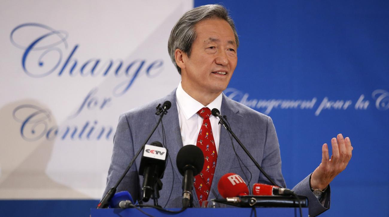 fifa presidency chung mong-joon announces bid