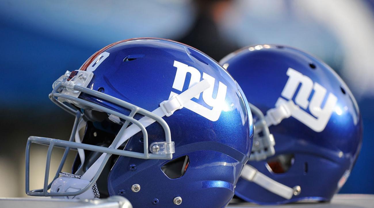 new york giants helmets