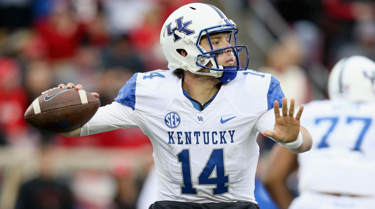 patrick towles kentucky wildcats starting quarterback
