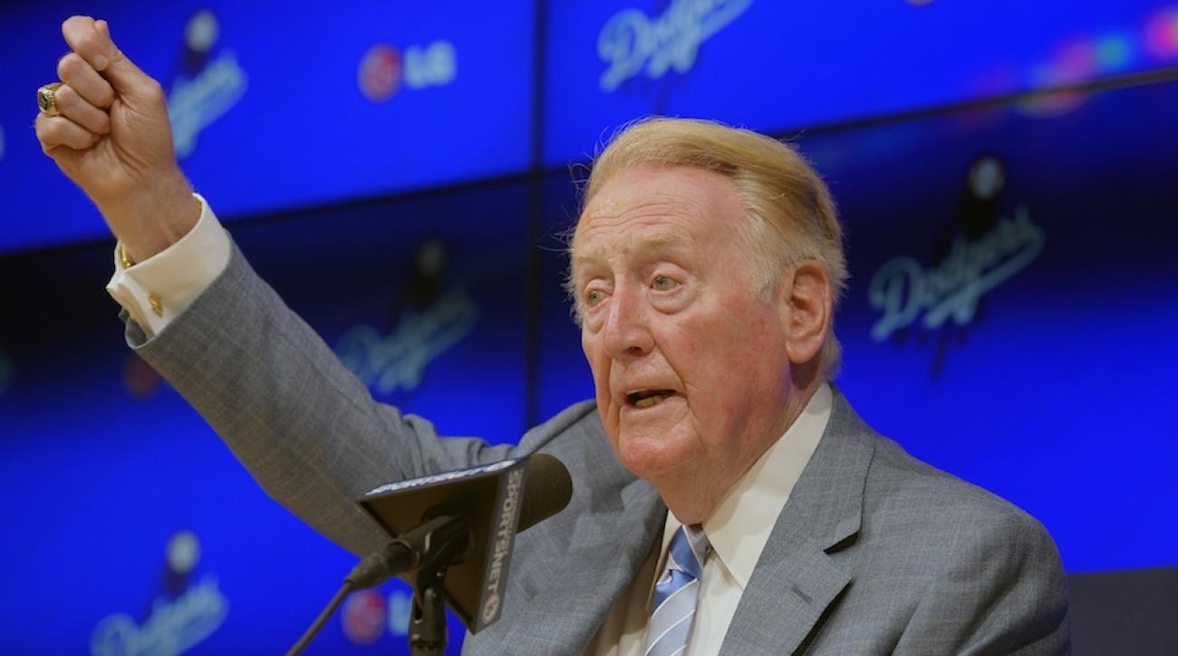 Vin Scully announced his return for a 67th season.