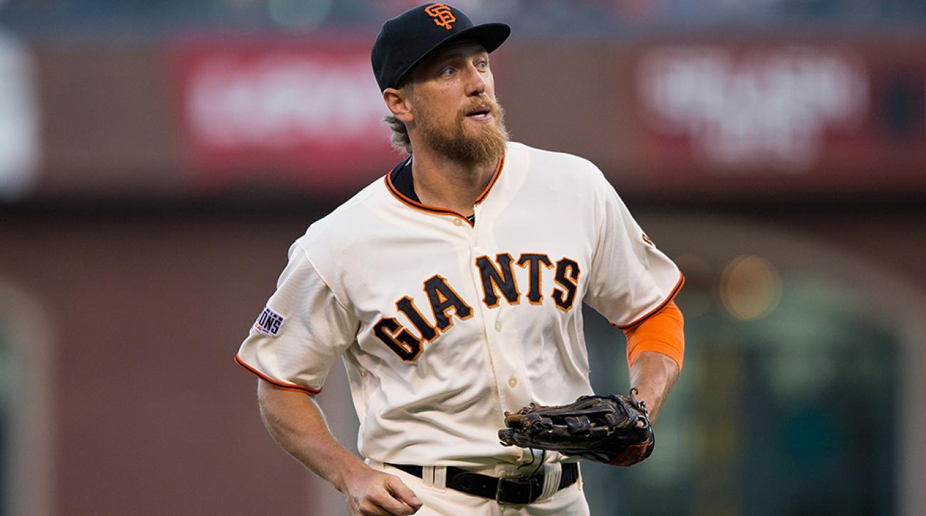 giants hunter pence injury oblique mri