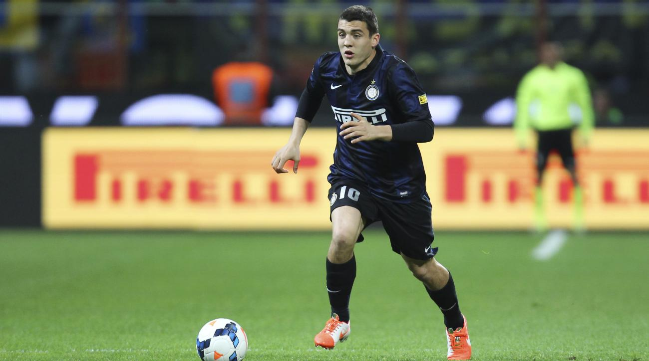 mateo kovacic signs real madrid new andrea pirlo