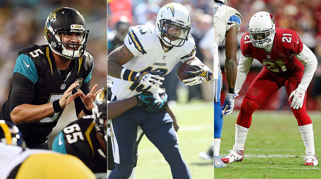NFL All-Redemption Team: Blake Bortles, Keenan Allen, Patrick Peterson