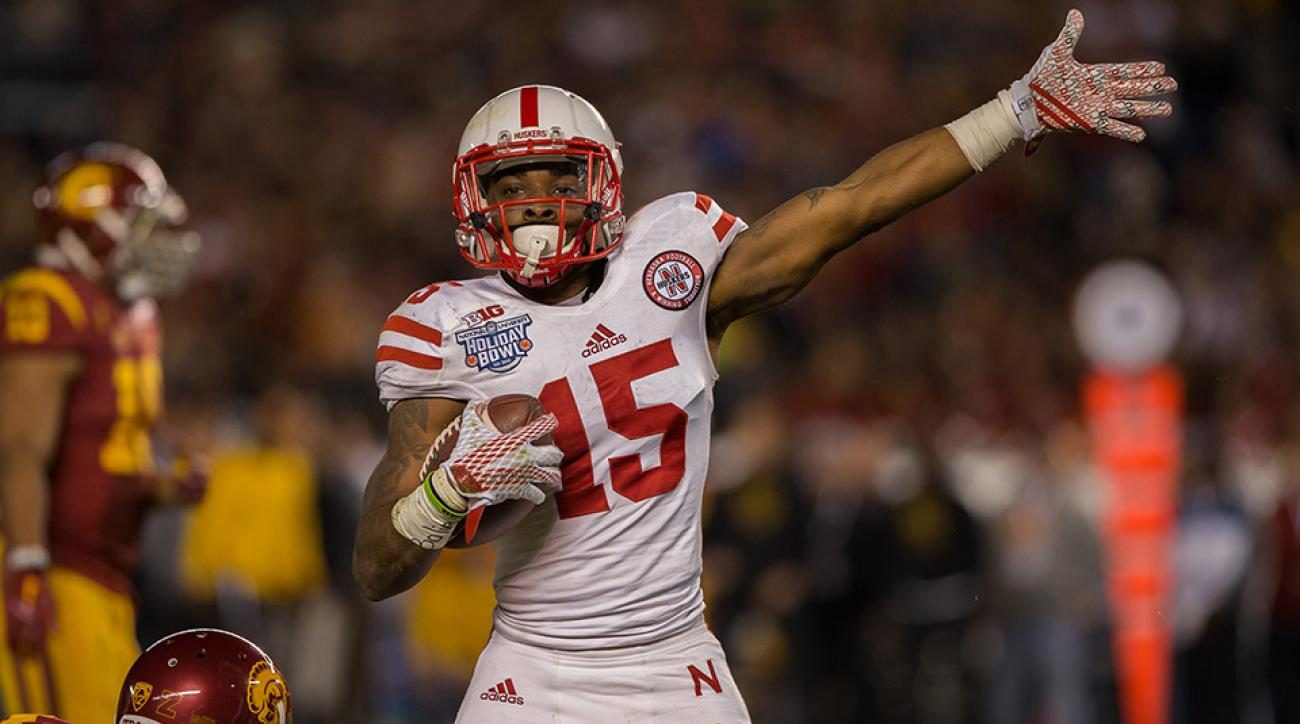 nebraska cornhuskers demornay pierson-el foot injury