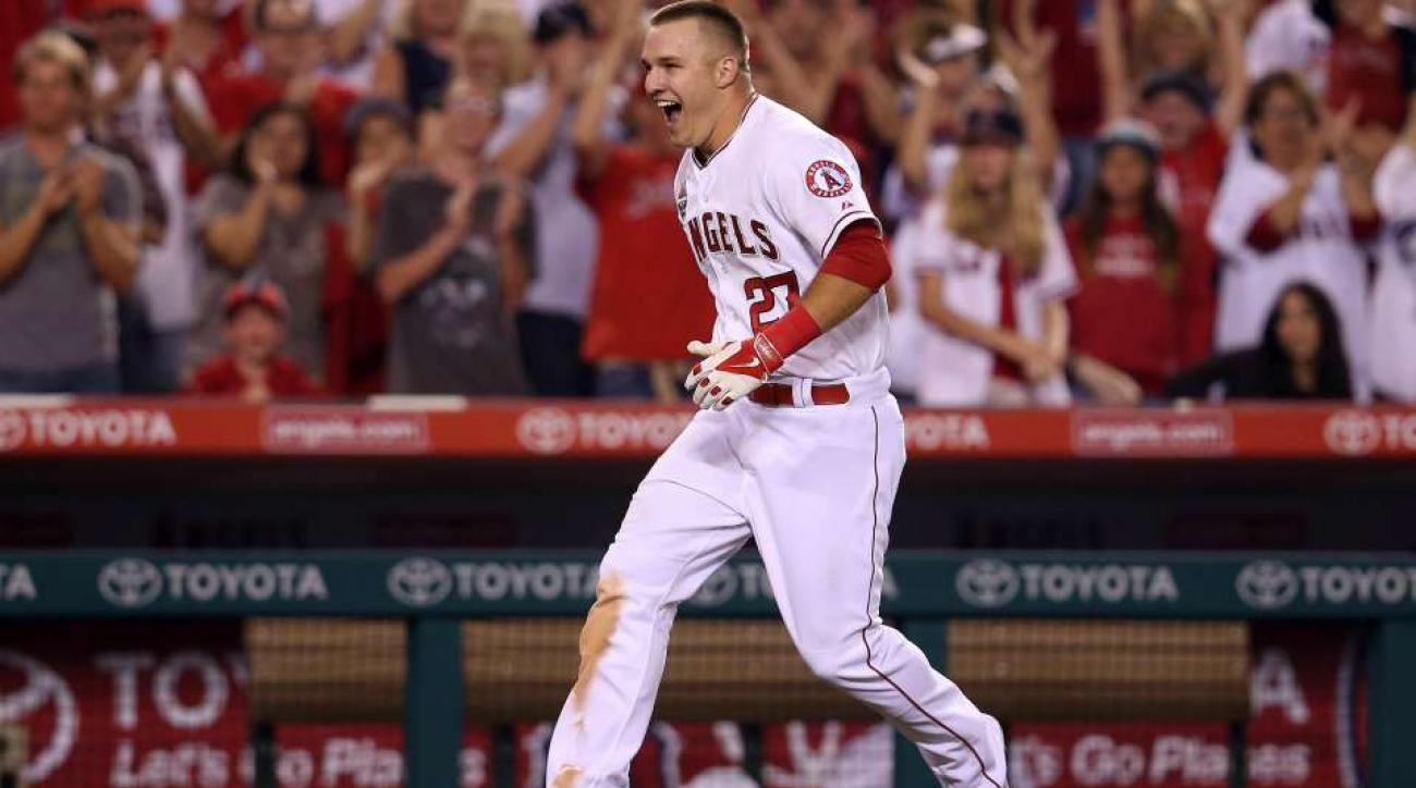 Mike Trout loves the weather, wants a blizzard vacation