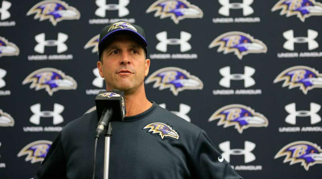 Ravens training camp is like childbirth, says John Harbaugh