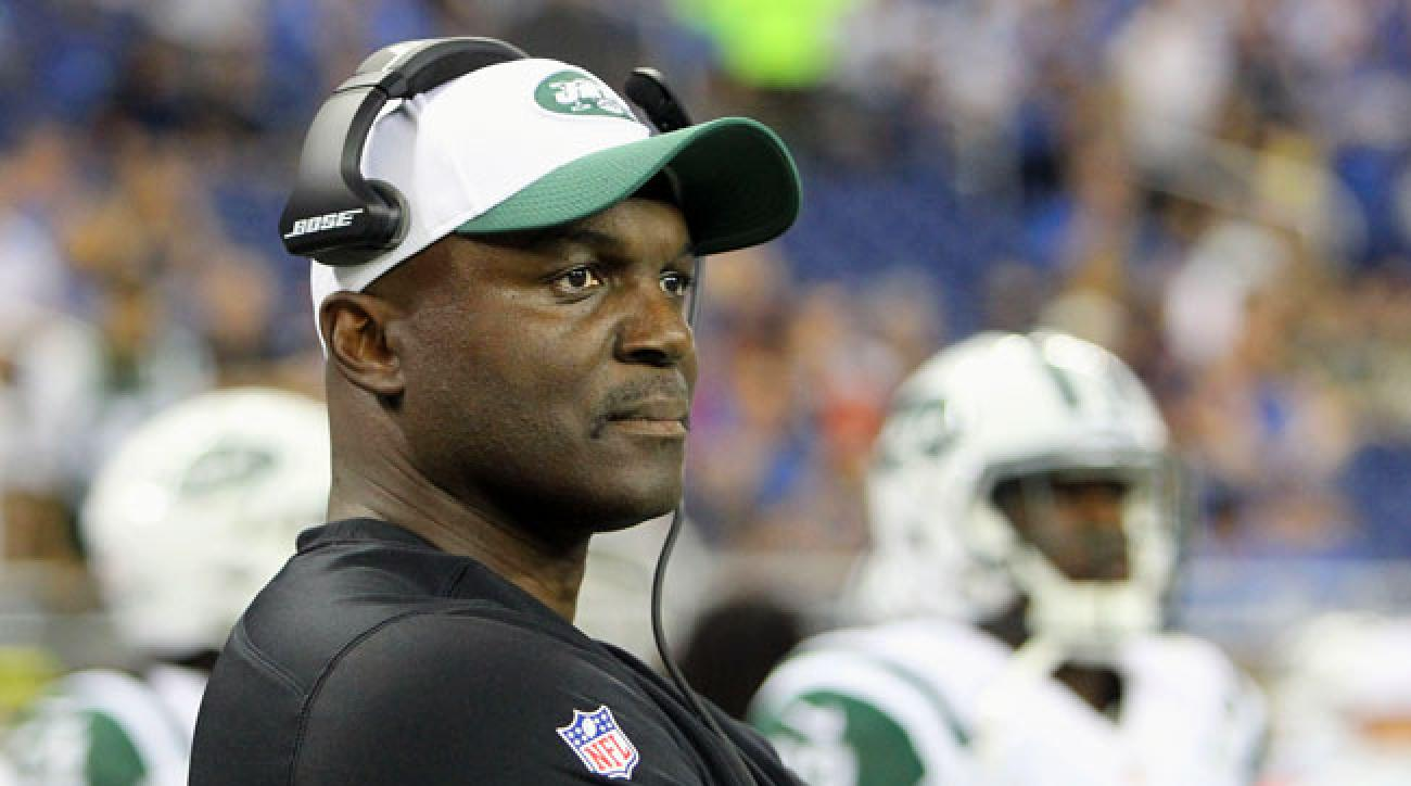 Jets coach Todd Bowles.