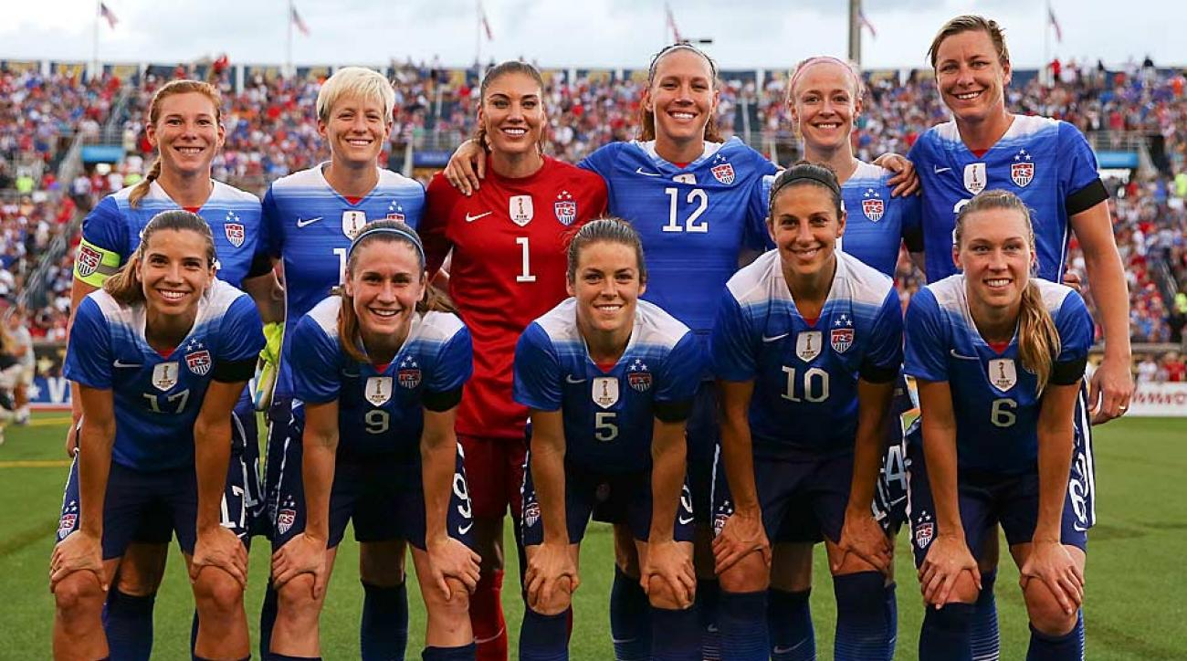 USWNT vs. Costa Rica 8-19-15