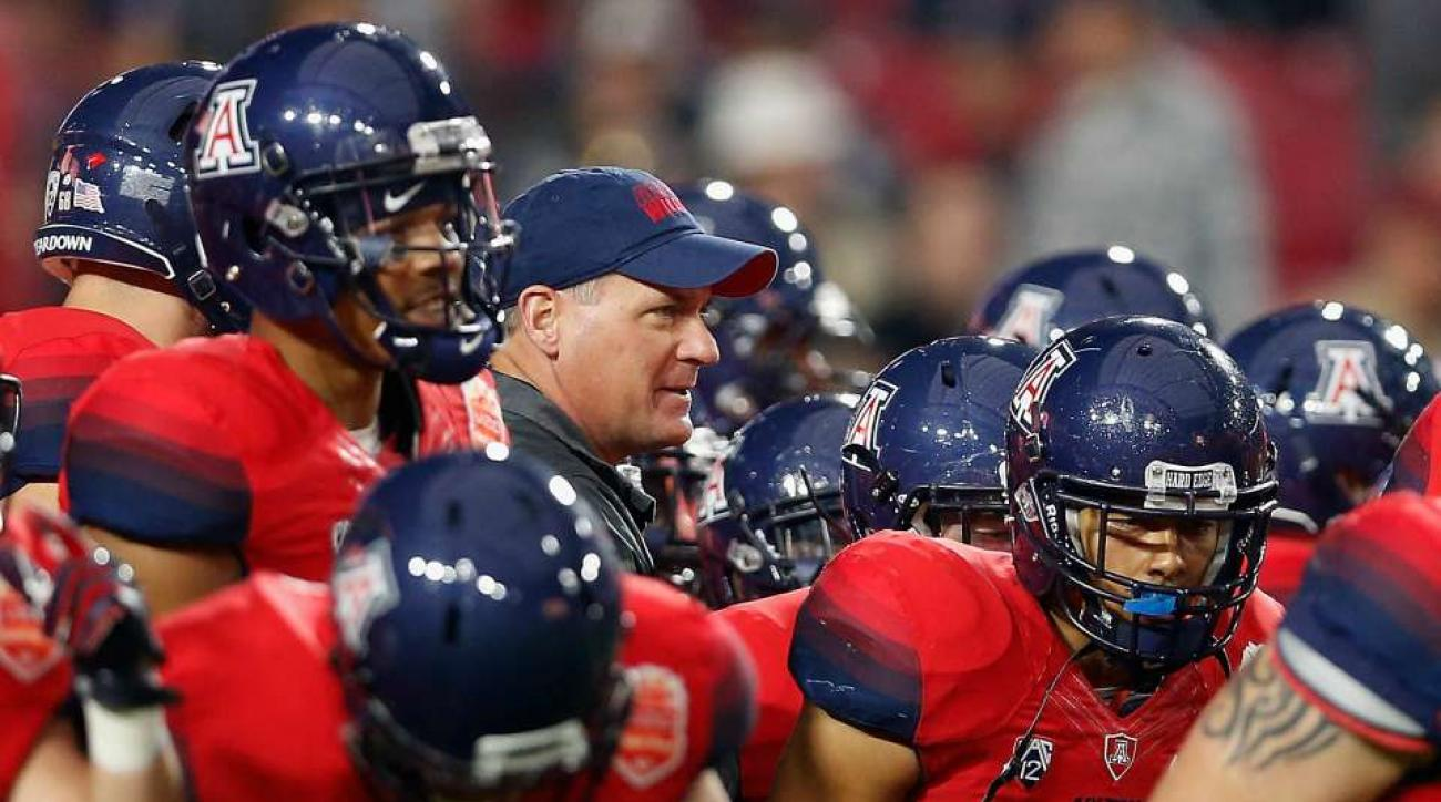 Arizona practice canceled by Rich Rodriguez
