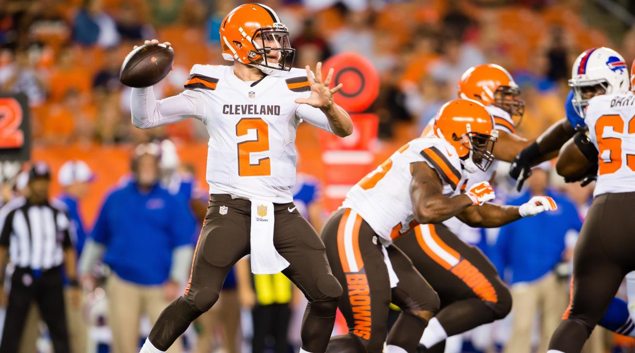 browns johnny manziel quarterback controversy