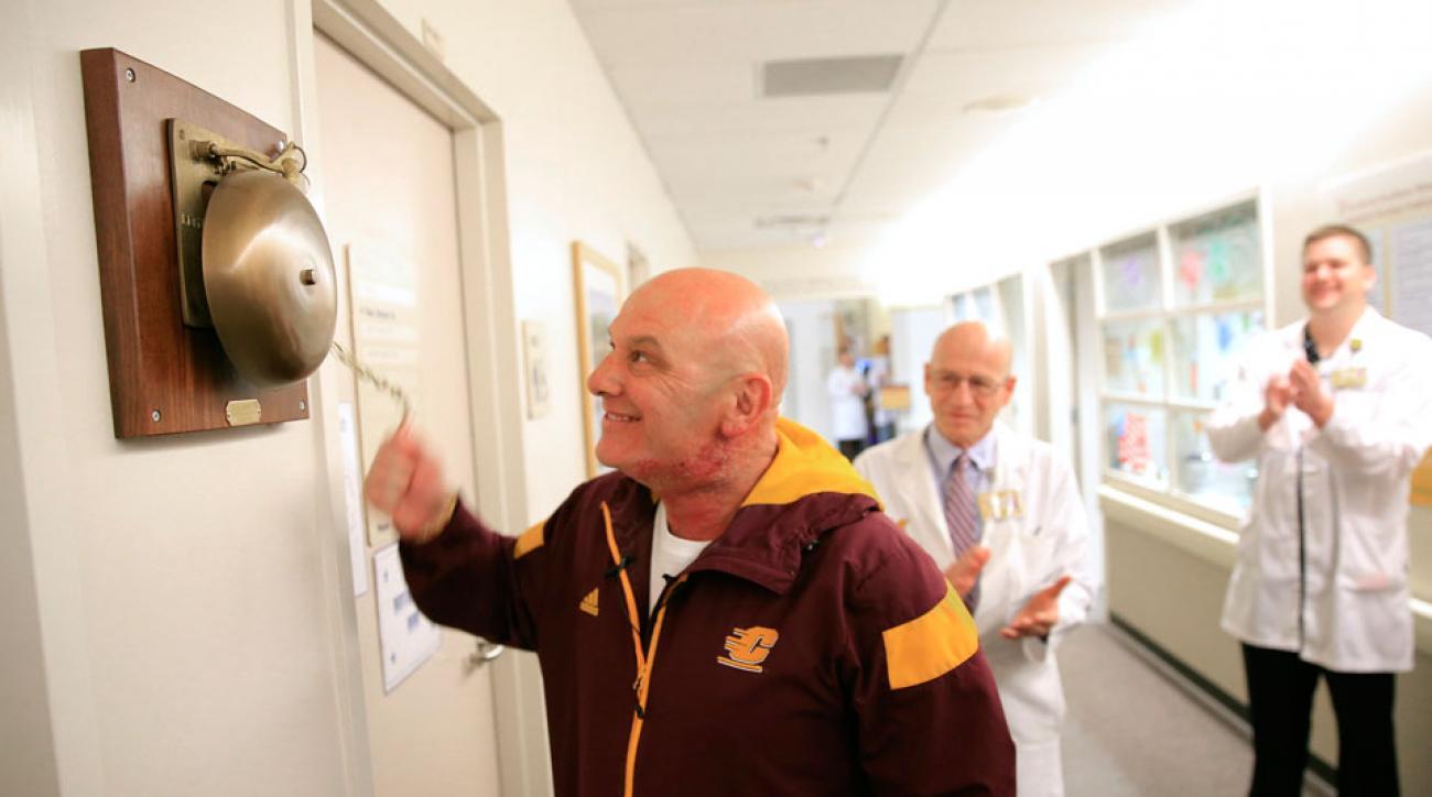 john bonamego final cancer treatment central michigan