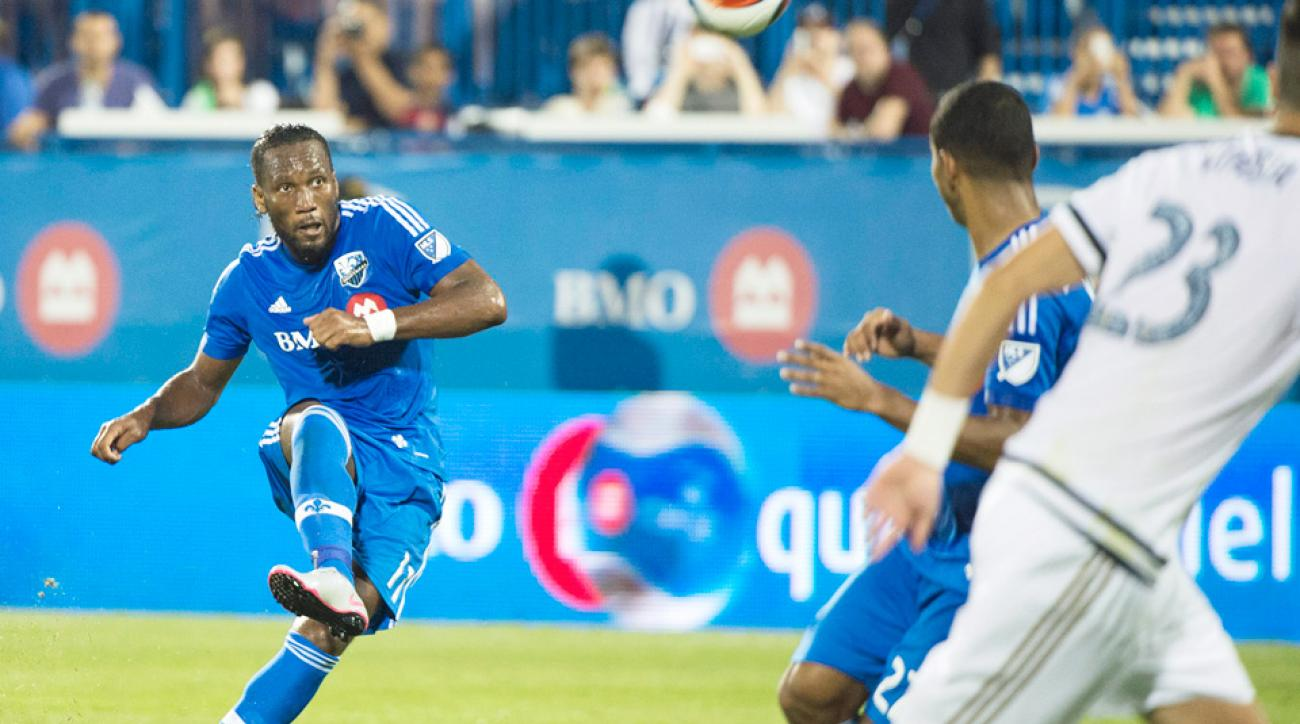 Philadelphia Union beat the Montreal Impact in Didier Drogba's Impact debut.