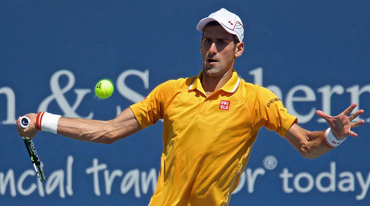 Novak Djokovic Roger Federer advance finals Cincinnati