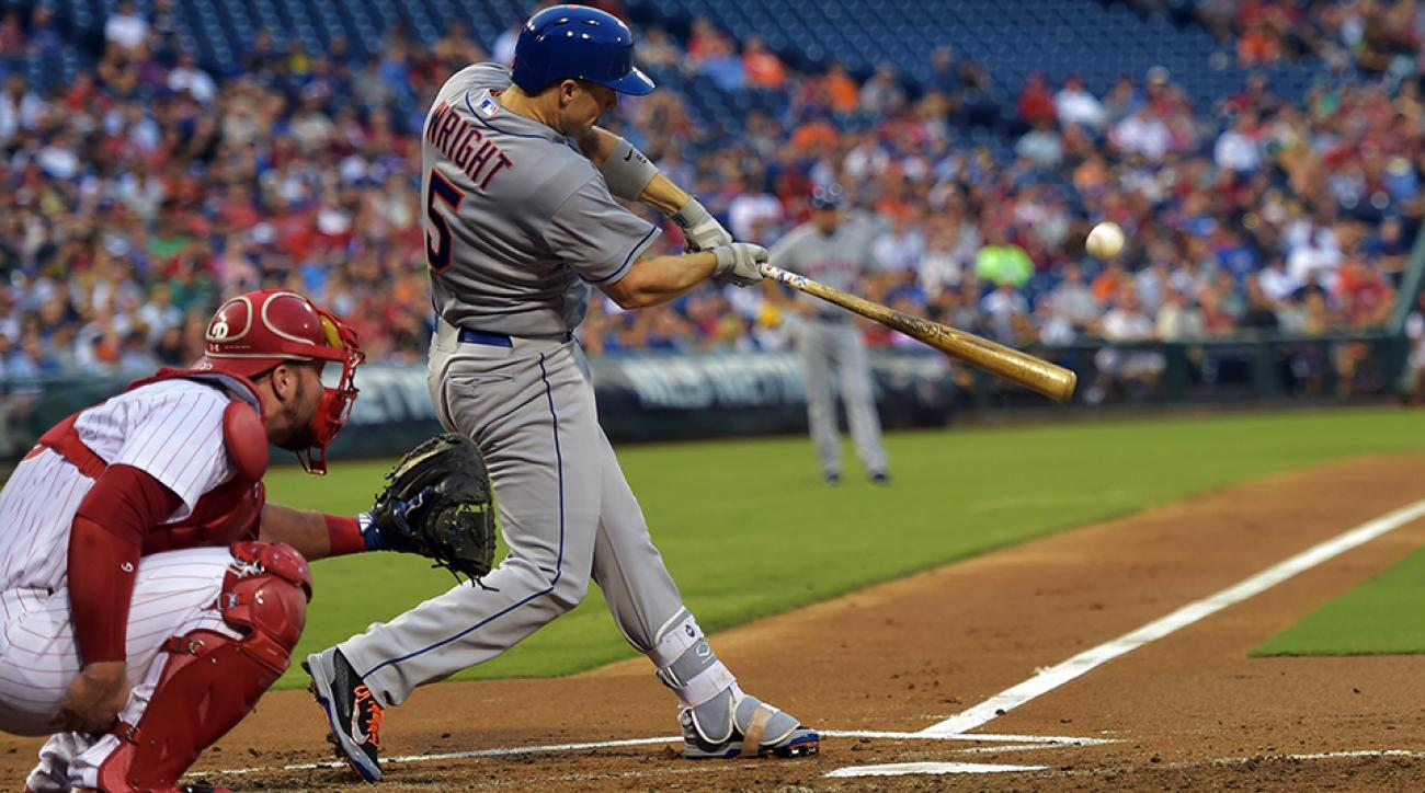 new york mets david wright home run return video