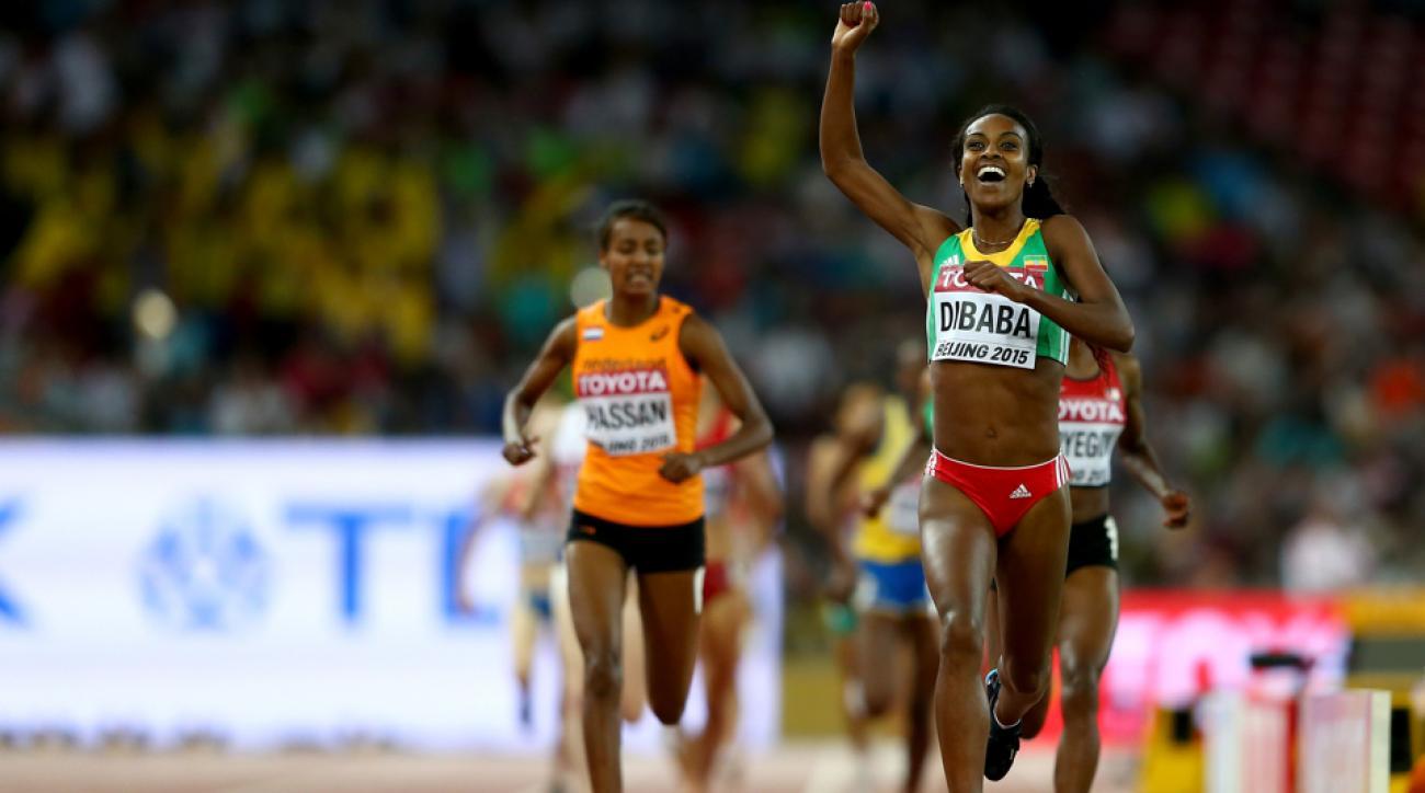 genzebe dibaba world championship gold beijing 2015