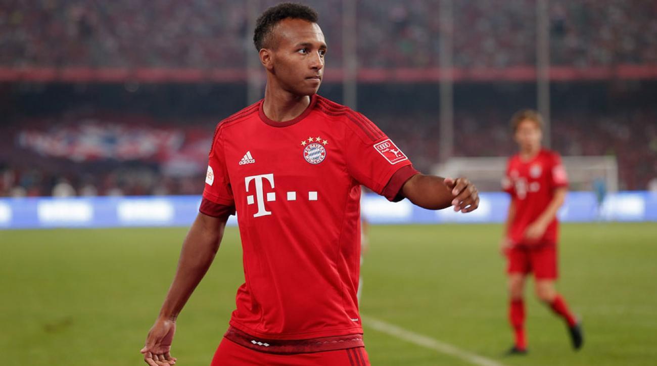 Julian Green scored a goal for Bayern Munich II