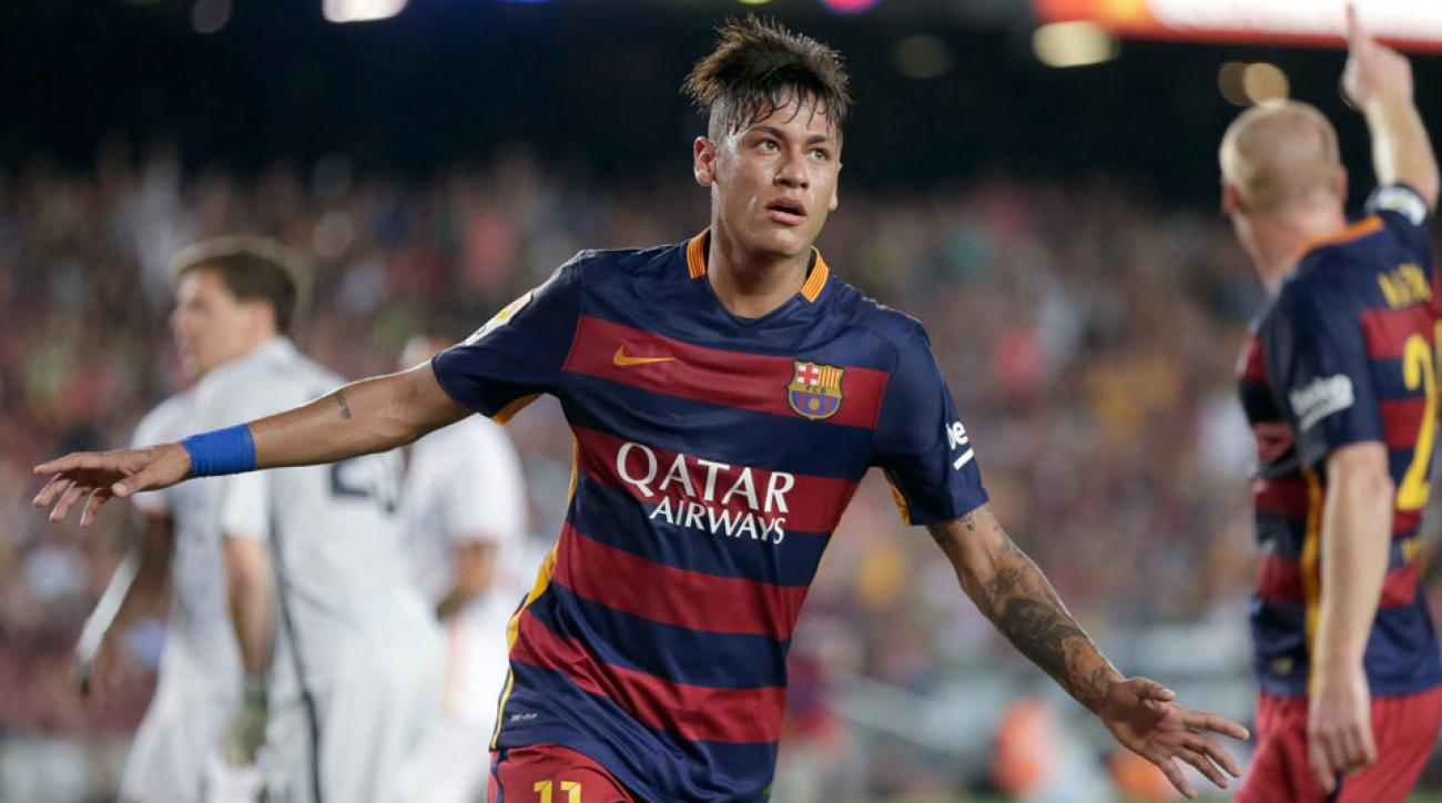 Barcelona is mulling a contract extension for Neymar