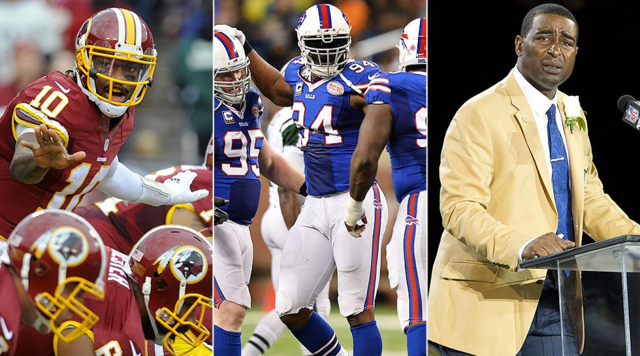 NFL preseason: Robert Griffin III, Marcell Dareus, Cris Carter lead avalanche of cheap talk